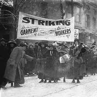 garment workers strike