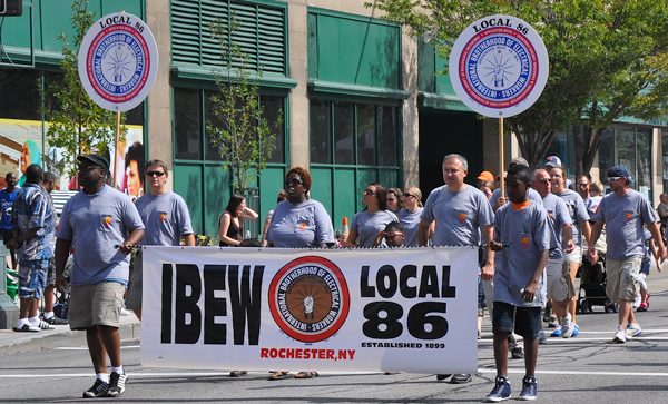 2012 Labor Day Parade - IBEW Local 86